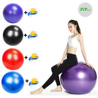 Exercise Workout Yoga Ball - Yoga Fitness Pilates Sculpting Balance Include Pump