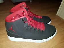 Nike Jordan Executive Noir Rouge Blanc Baskets Hommes Taille 43