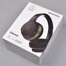 Audio-technica Headphones ATH-AR3BT-BK Wireless  Bluetooth Black gold *Japan new