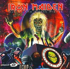 Iron Maiden-Out Of The Silent Planet EP Vinyl LP Heavy Metal Sticker or Magnet
