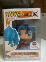 "Funko Pop Chalice Exclusive : Metallic SSGSS Goku (Kamehameha) #563 ""SOLD OUT"""