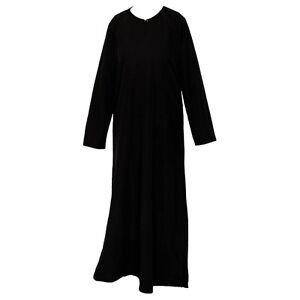 GIRLS BLACK ABAYA   JILBAB   MOSQUE   MADRESSAH   ISLAMIC CLOTHING
