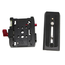 Mini Quick Release QR Plate Clamp Adapter Station JS For DSLR Camera Tripod Rail