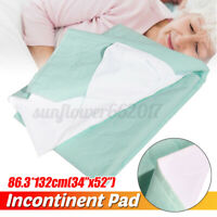 Washable Reusable Waterproof Underpad Bed Pad Incontinence Mattress Protectors