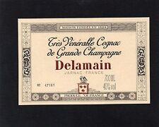 COGNAC VIEILLE ETIQUETTE COGNAC DELAMAIN NUMEROTEE 70 CL   §04/01§