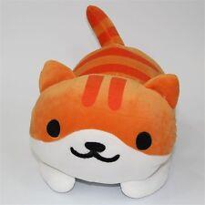 "14"" Game Neko Atsume ねこあつめ Kitty Collector Pumpkin Plush Toys Stuffed Doll"