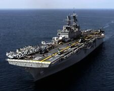 New 8x10 Photo: Aircraft Carrier USS BATAAN Assault Ship in the Atlantic Ocean