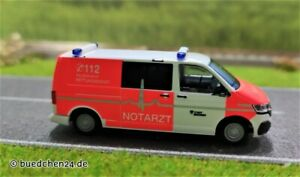 Volkswagen T6.1 (VW) - VW T6.1 FW Bochum Notarzt - H0-1:87 - Rietze