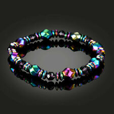 Weight Loss Multicolor Magnetic Bracelet Beads Hematite Stone for Therapy Yc