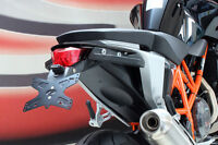 EVOTECH KIT PORTATARGA + LUCETARGA RECLINABILE KTM 690 DUKE / R 2012-2018