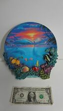 Hamilton Collection Sealife at Sunset by Anthony Jones - Decorative Wall Plate