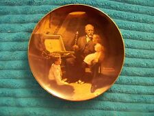 "Norman Rockwell ""Grandpa's Treasure Chest"" Limited Edition Decorative Plate"