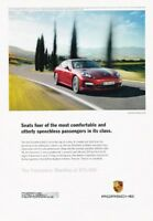 2010 Porsche Panamera 4S Original Advertisement Car Print Ad J361