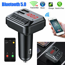 Bluetooth Car Set FM Transmitter Radio MP3 Player USB Charger Wireless Handsfree