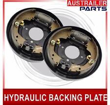 "2 x 9"" Hydraulic Drum Brake Backing Plates. Trailer Caravan parts."