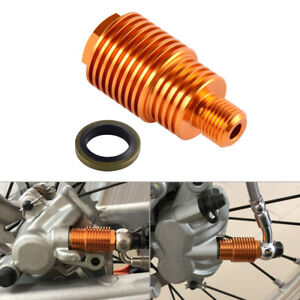 Racing ATV Rear Brake Caliper Cooler Screw Bolt for KTM 125 200 250 350 450 530