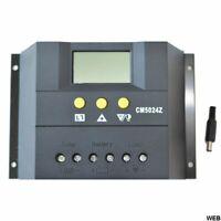 Regolatore di Carica Solare PWM 12/24V 50A Sensore temperatura CM5024Z