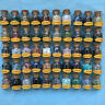 50 Mini Gemstone Bottles Chip Crystal Tumbled Gem Reiki Wicca Stones Set