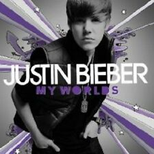 "JUSTIN BIEBER ""MY WORLDS"" CD NEW+"