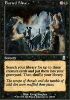 MTG  4X  ** BURIED ALIVE FOIL **  X4 Magic Graveborn