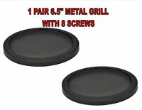6.5 Inch Speaker Metal Mesh Grills 2 PCS DJ Car Audio with Clips & Screws GT-6.5