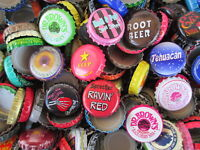 500 **MIXED** SODA  AND ROOT BEER BOTTLE CAPS ** Great Colors NO DENTS