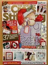 Issue 158 The World of Cross Stitching Magazine Christmas Festive Ideas  BR585