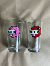 Kith x Power Rangers Collaboration Glass Cup Set (16oz)