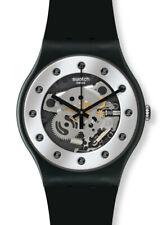 Swatch New Gent X-Mas Special Silver Glam SUOZ147, Neu, OVP