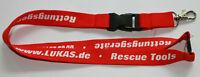 LUKAS Rettungsgeräte Schlüsselband Lanyard NEU (Z4)
