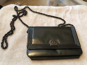 Chanel Boy Bag WOC 100% Guaranteed Authentic