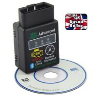 New ELM327 Bluetooth OBD2 V2.1 Android Car Scanner Torque Auto DTCs Scan Tool UK
