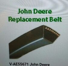 AE55671 Set of 4 Drive Belts for John Deere Disc Mower 265 275 J112B N2
