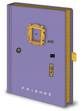 Friends Purple Picture Frame Premium Notebook Journal Official Licensed A5 Hard