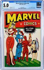 Marvel Mystery Comics #84 CGC 5.0 Off-White Blonde Phantom Captain America Namor