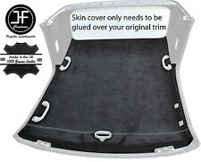 WHITE STITCH CONVERTIBLE HARDTOP ROOF HEADLINING PU SUEDE COVER FITS BMW E36