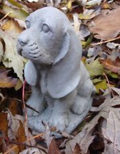 Latex dog basset hound mold plaster cement casting mould