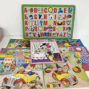 Various Puzzle Boards - Minnie, Gumby, Noddy, Paddington, Banana in Pyjamas #327