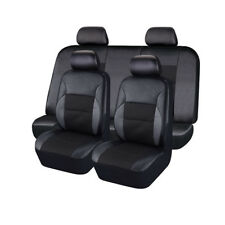 High Quality PVC Leather Car Seat Covers 5 Seats Front+Rear Seat Protect Cushion