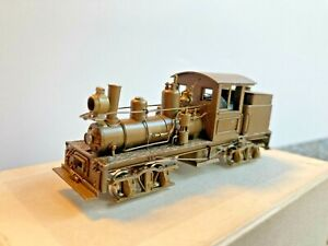 Ho scale brass NWSL 18 Ton Class A Shay