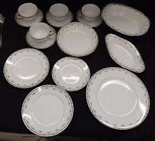 Limoges France Mavaleix Granger Old Abbey GHB Co. Partial China Set -Rose Swags