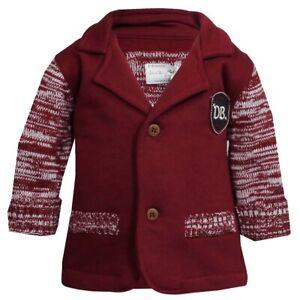 Design Baby Jacke Gr. 68, 80, 86 / Ducky Beau Mädchen Jungen Rot Weiß Weste Sale