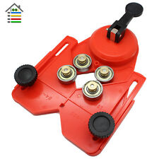 Adjustable Diamond Drill Bit Tile Glass Hole Saw Guide Openings Locator +Sucker