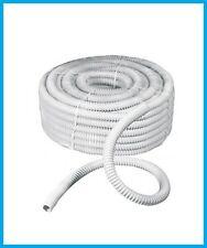guaina pvc spiralata bianca flessibile tubo guaina passacavi D.12/16/20/25/32/50