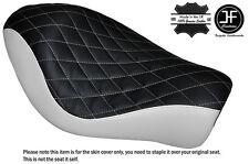 Negro Y Blanco Diamante Personalizado Para Harley Sportster Low Hierro 883 Solo Cubierta de asiento