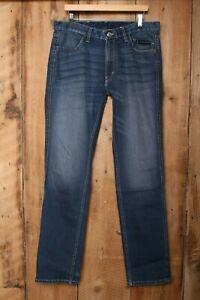 HARLEY DAVIDSON FXRG Armalith Stretch Denim Jeans Sz. 34x34 (Measure 36x35)