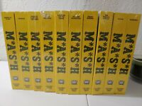 New MASH Collectors Edition SEALED (New) VHS Tapes Collection of 10 TV Series
