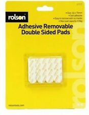Rolson 12 Piece Adhesive Removable Double Sided Pads 61312 Pictures