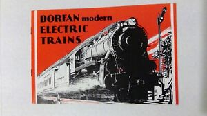 ORIGINAL 1930 DORFAN MODERN ELECTRIC TRAIN 16 PAGE CATALOG FABULOUS