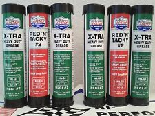 LUCAS GREASE COMBO RED & TACKY & H/D #10315  2X3 PACK OF 3 OZ. CARTRIDGE  USA
